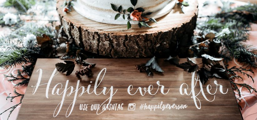 5 Tips for Creating the Perfect Custom Wedding Hashtag